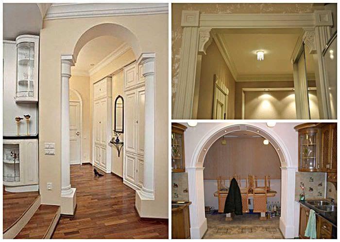 элементы отличаются отделка арок в доме фото жена была старше