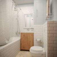 идея оригинального дизайна белой ванной картинка
