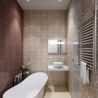 идея красивого стиля 2 комнатной квартиры фото пример