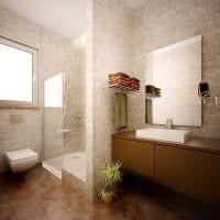 вариант красивого интерьера ванной фото