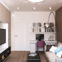 вариант необычного дизайна квартиры картинка