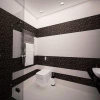 идея красивого интерьера белой ванной комнаты картинка