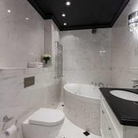 идея необычного дизайна ванной в квартире картинка