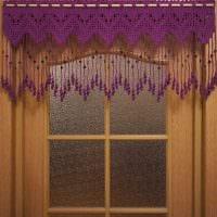 идея красивых декоративных штор в интерьере квартиры картинка