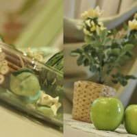 идея праздничного декорирования предметов к 8 марта фото