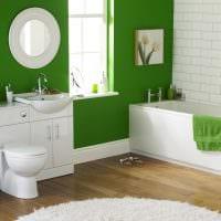 вариант необычного дизайна белой ванной картинка