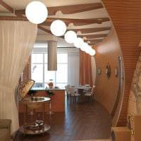 вариант красивого дизайна 2 комнатной квартиры картинка пример