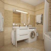 вариант необычного стиля ванной в квартире фото