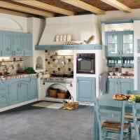 идея красивого интерьера дома в деревне фото