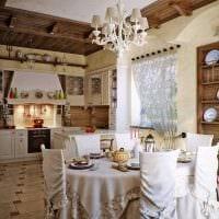 идея оригинального стиля дачи в деревне фото