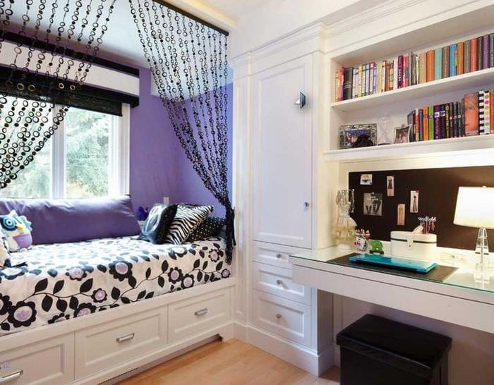 75 красивых идей декора комнаты для девочки своими руками