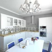 вариант яркого стиля 2 комнатной квартиры фото пример