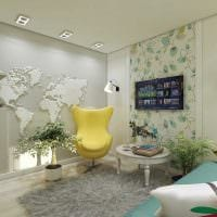 вариант красивого декора спальни 3-х комнатной квартиры картинка