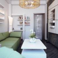 вариант необычного оформления гостиной комнаты 17 кв.метров картинка