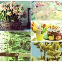 вариант оригинального украшения предметов к 8 марта фото