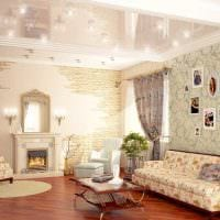 идея яркого декорирования стен в помещениях картинка