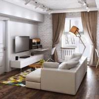 идея красивого дизайна квартиры картинка пример