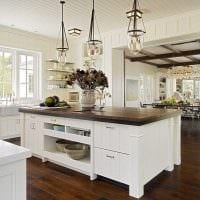 идея красивого интерьера кухни картинка