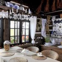 идея красивого дизайна дома в деревне фото