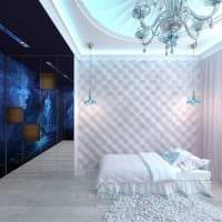 идея оригинального декора спальни для девочки фото
