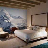идея красивого декорирования стен фото