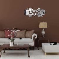 вариант стильного декорирования интерьера спальной комнаты картинка