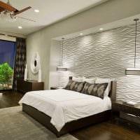 вариант красивого декорирования стиля спальной комнаты картинка