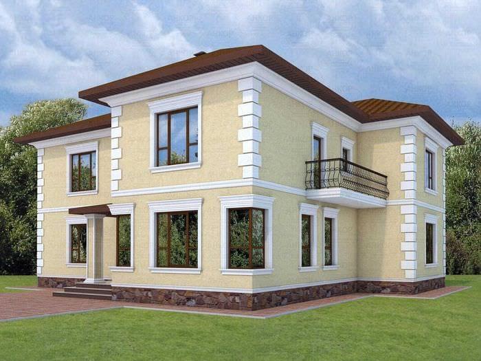 поэтому оформление фасадов частного дома картинки издалека привлекала