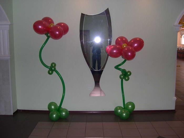 идея оригинального декорирования предметов к 8 марта