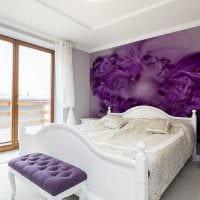 вариант красивого декорирования стен в помещениях фото