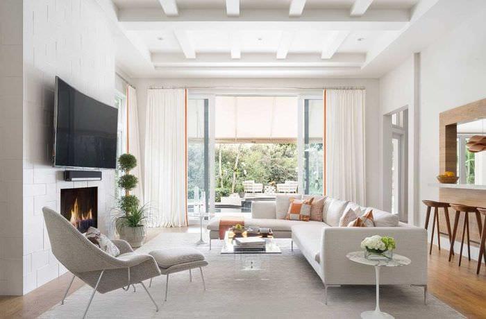 идея яркого стиля комнаты 2017 года