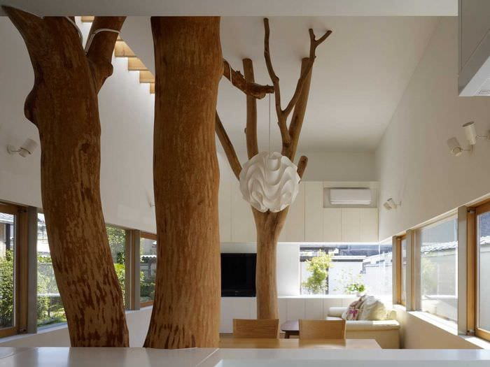 деревья в интерьере картинки метод