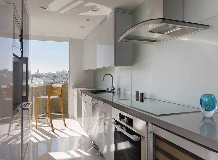 вариант необычного дизайна квартиры 2017 года