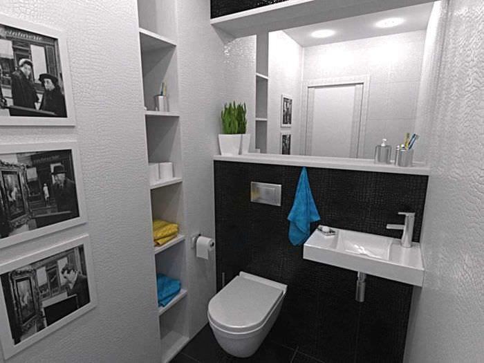 идея красивого стиля ванной