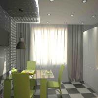 вариант яркого дизайна квартиры фото пример