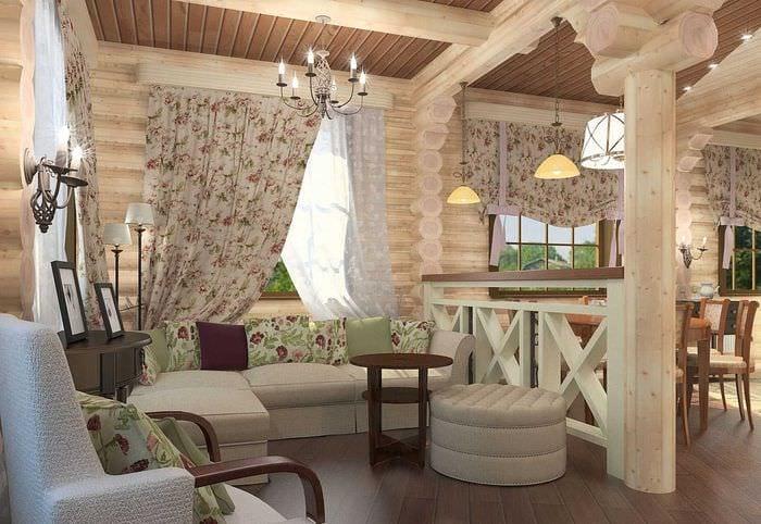 дизайн деревенского дома внутри своими руками фото которых палец защемило