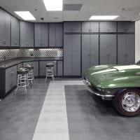 идея функционального интерьера гаража картинка