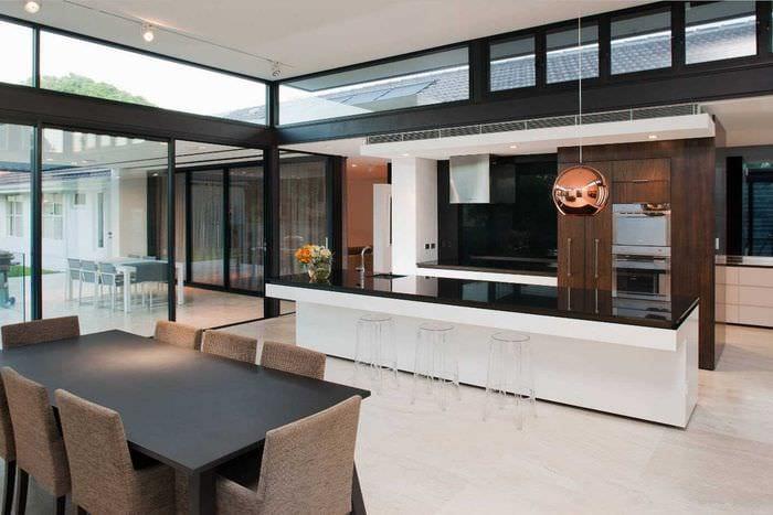 вариант красивого дизайна квартиры 2017 года
