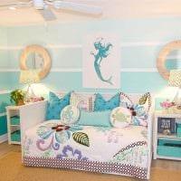 идея необычного интерьера детской комнаты для девочки картинка