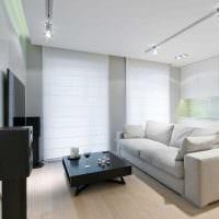 идея необычного стиля комнаты в светлых тонах в современном стиле картинка