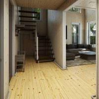 идея необычного стиля дома со вторым светом фото
