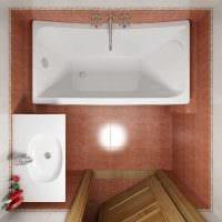вариант необычного дизайна ванной комнаты 2.5 кв.м фото