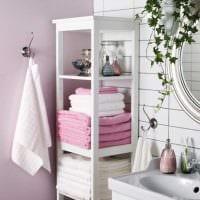 идея красивого стиля ванной комнаты 2017 картинка