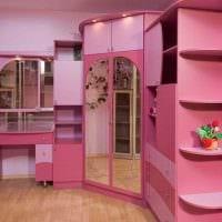 идея красивого интерьера детской комнаты для девочки картинка