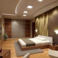 идея необычного стиля гостиной в частном доме фото