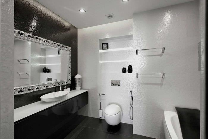 идея яркого стиля ванной 2020