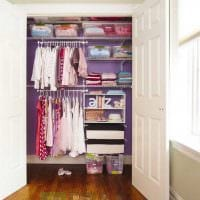 идея современного интерьера гардеробной фото