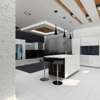 вариант светлого дизайна современной квартиры 70 кв.м фото