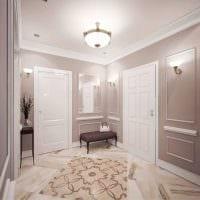 идея светлого стиля комнаты в стиле современная классика картинка