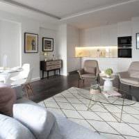 идея необычного интерьера гостиной в современном стиле картинка